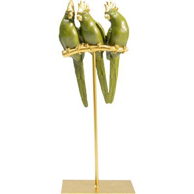 Figura deco Parrot Friends