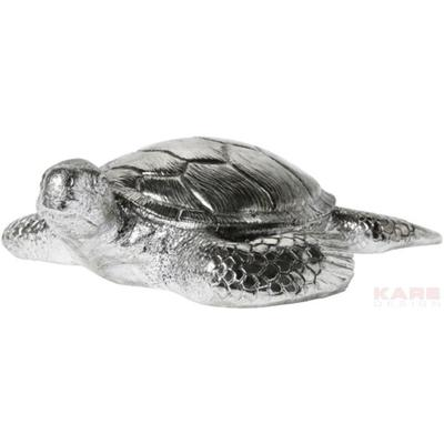 Figura decorativa Turtle Antik plata