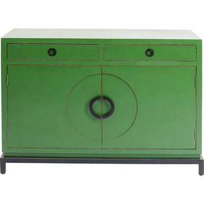 Aparador Disk verde 2 pta