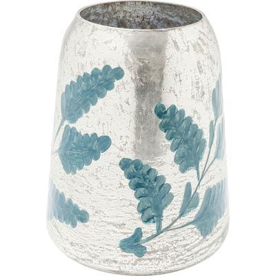 Vasija Orient Garden azul 23cm