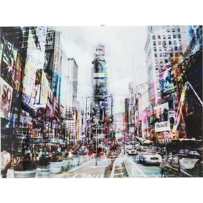 Cuadro cristal Times Square Move 120x90cm