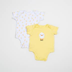 Body manga corta paquete x 2 Baby