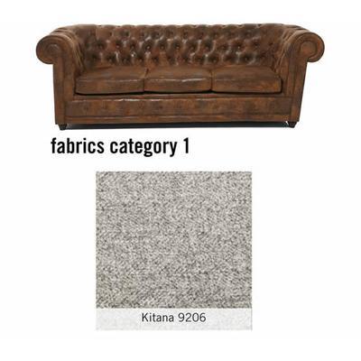 Sofa Oxford 20498 3-Seater - Fabric 1, KITANA 9206