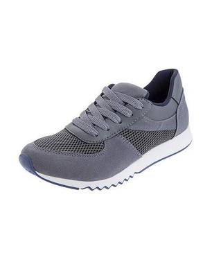 Zapatos Urban Gray Sneakers 0112-M Gris - LUSOLE