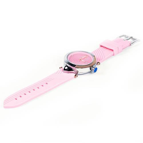 Reloj Rosa - Plateado - L1104-04