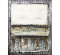 Cuadro Abstract Grey Line One 150x120c