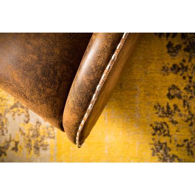 Alfombra Kelim Pop amarillo 240x170cm