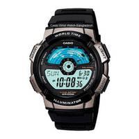 Reloj digital gris-negro W-1A