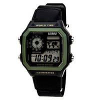Reloj digital gris-negro B-1B