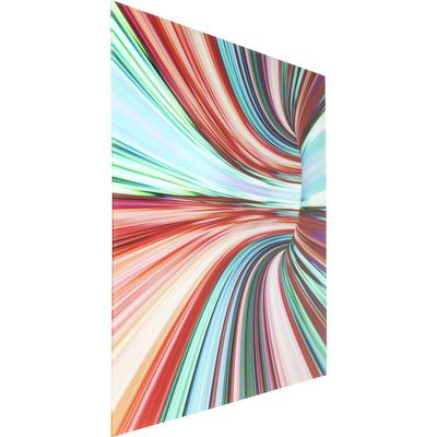 Cuadro cristal Colorful Intoxication 120x160cm