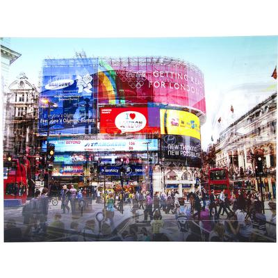 Cuadro cristal Piccadilly Circus 120x160cm