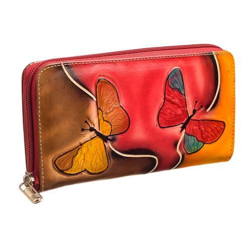 Billetera para Mujer en cuero JB 03 multicolor
