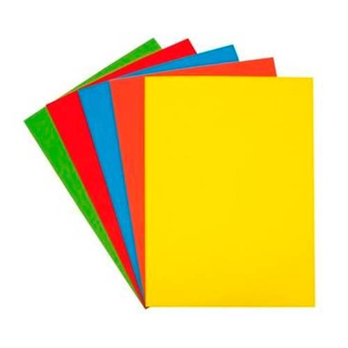 Cartulina Arte 1/8 X10 - X3 Paquetes - Colores Surtidos