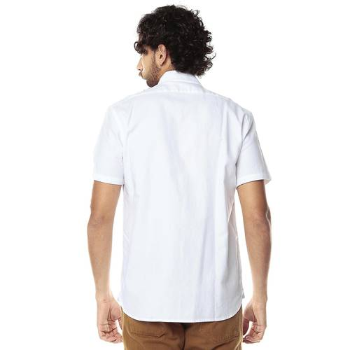 Camisa Manga Corta Oxford para Hombre Color Siete