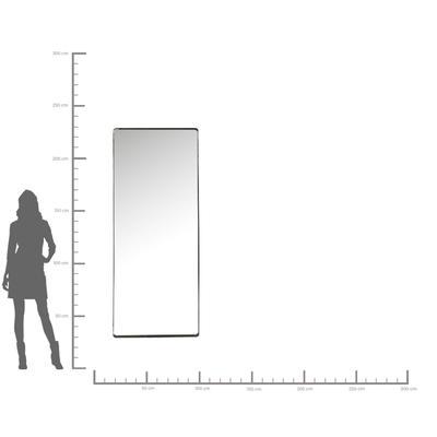 Espejo Ombra Soft negro 200x80cm