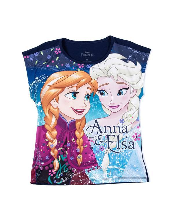 Camiseta Caminadora Frozen