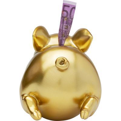 Alcancía Happy Pig oro