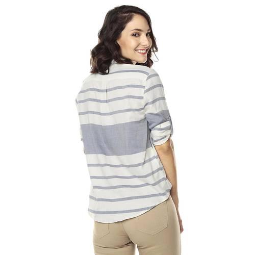 Camisa para Mujer Color Siete - Azul