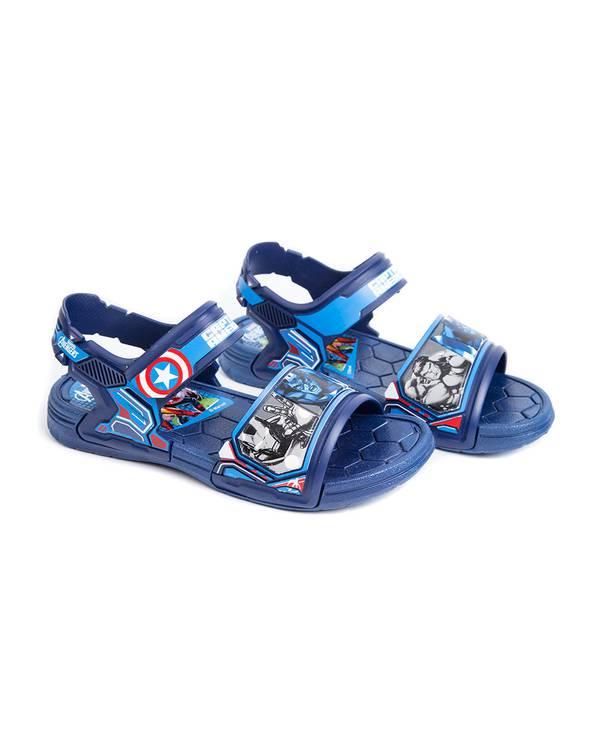 Sandalia Azul Niño Avengers