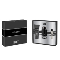 Montblanc Estuche  Explorer  EDP 100ml + 7.5ml + After Shave Balm 100ml