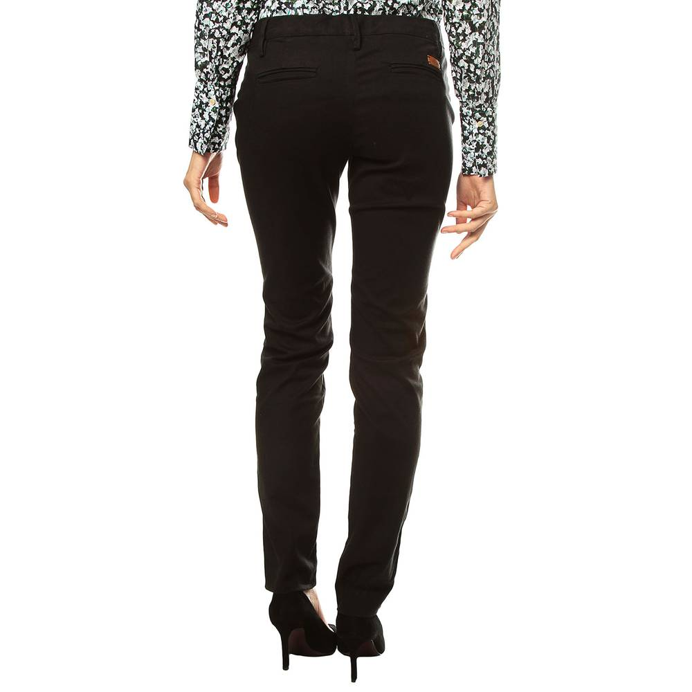 f9232d5eccf Pantalon Chino Color Siete para Mujer - Negro - Color Siete