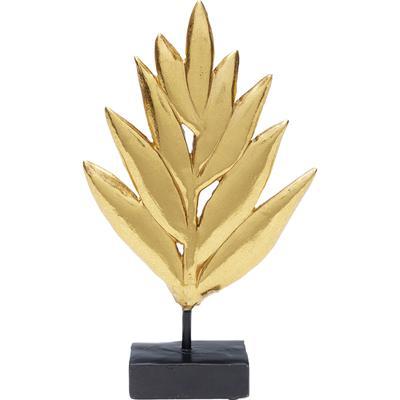 Objeto deco Leaves oro 15cm