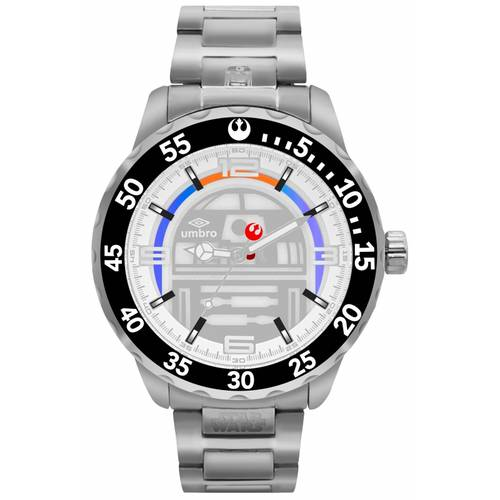 Reloj Plateado/Plateado - Umb-Sw03-1