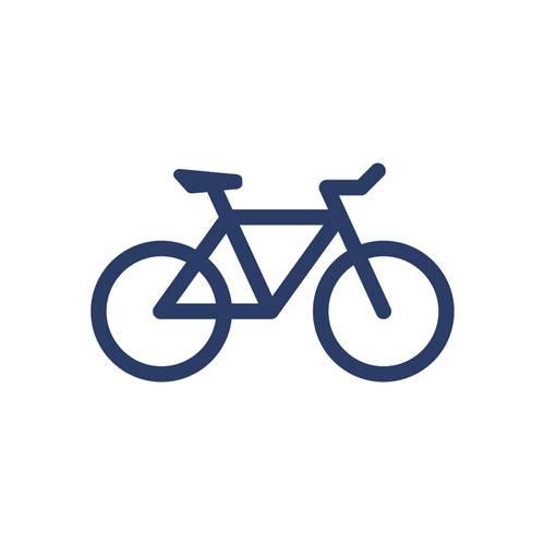 Polo Color Siete Para Hombre Blanco - Bicicleta