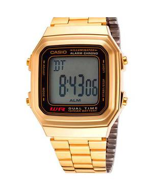 Reloj Análogo Negro-Dorado CA-A-178WGa-1 - Casio