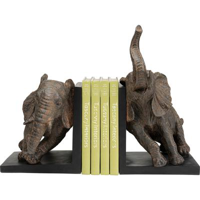 Sujetalibros Elephants 25cm (2/Set)