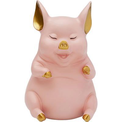 Alcancía Happy Pig Sitting Rosa