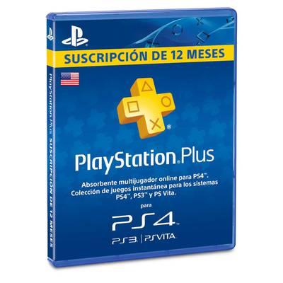 PlayStation Plus - Suscripción de 12 Meses