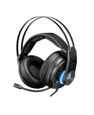 Audifono Diadema Gamer Gxt 383 Dion 7.1 Bass Vibration Negro