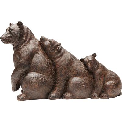 Objeto decorativo Relaxed Bear Family