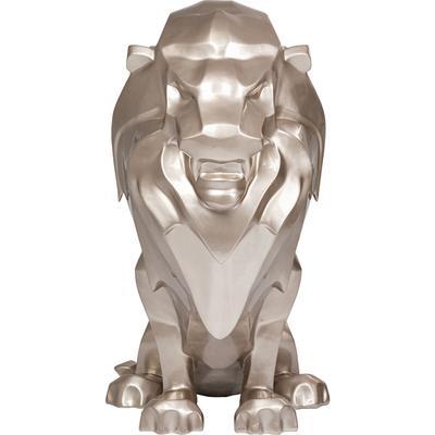Escultura Geometric Lion 170cm