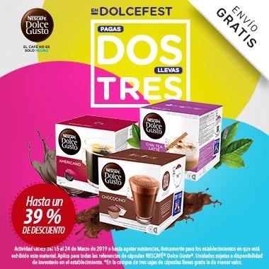 NESCAFÉ ® DOLCE GUSTO ® Dolce Fest 3x2