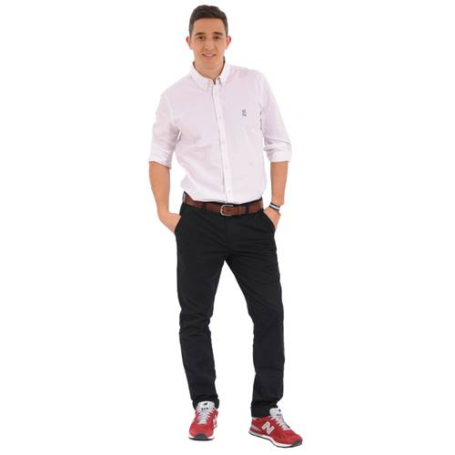 Camisa Manga Larga Springs Jack Supplies para Hombre - Blanco