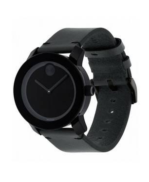 Reloj análogo negro-negro 0306
