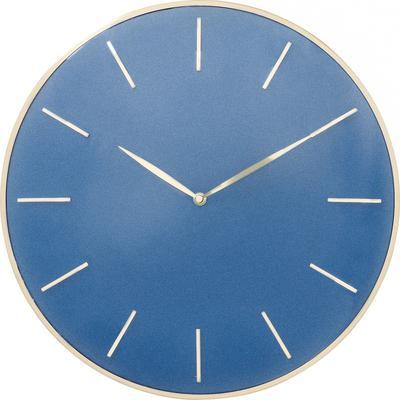 Reloj pared Malibu azul Ø40cm
