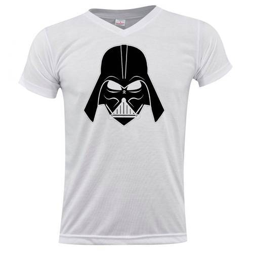 Camiseta Cuello V Darth-Vader 0177 - ART GENERATION