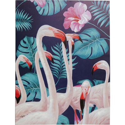 Cuadro Flamingo Road Natur 122x92cm