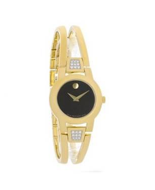 Reloj análogo negro-dorado 6895