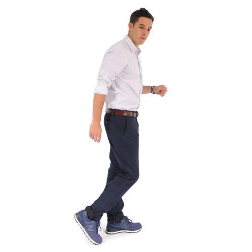 Pantalón Chelsea Color Siete para Hombre - Azul