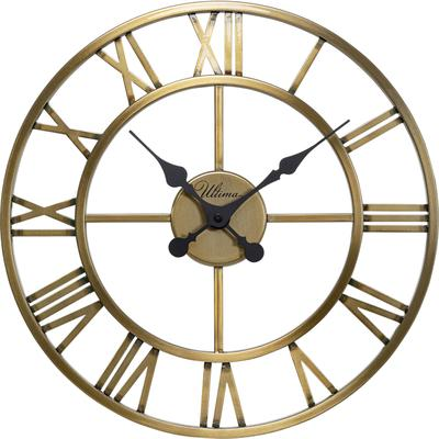 Reloj pared Roman latón Ø41cm