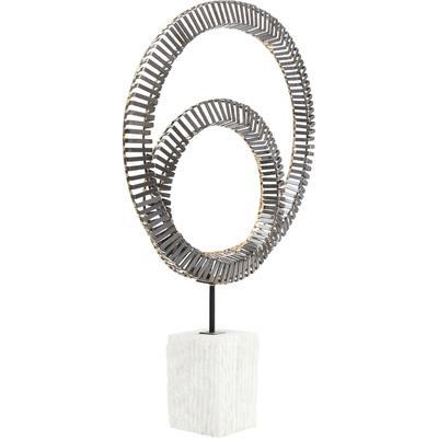 Objeto decorativo Circles Duo