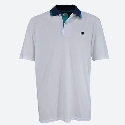 Camiseta Tipo Polo 1025 Blanco