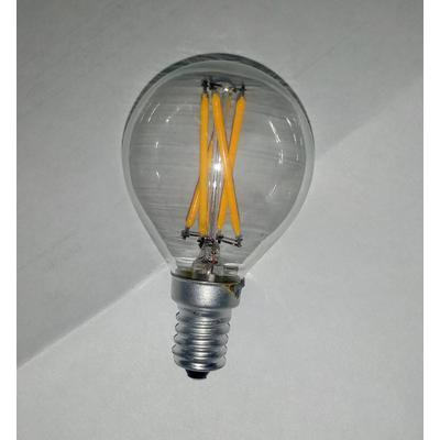 BOMBILLO PINPONG LED E14 FILAMENTOS CALIDO