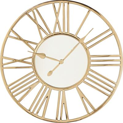 Reloj pared Giant oro Ø80cm