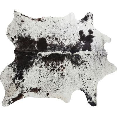 Alfombra Hide negro-blanco
