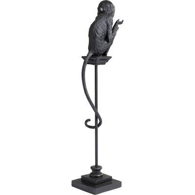 Figura deco Circus Monkey negro 108cm